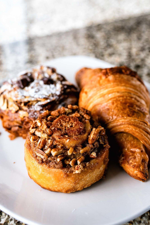 breakfast pastries -
