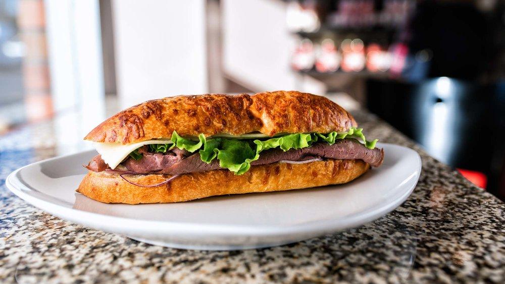 Roast beef sandwich -
