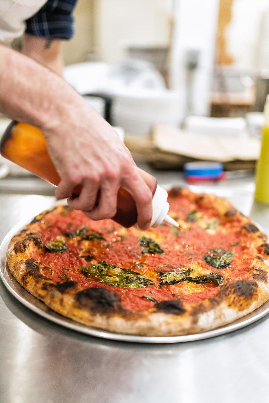 marinara pizza -