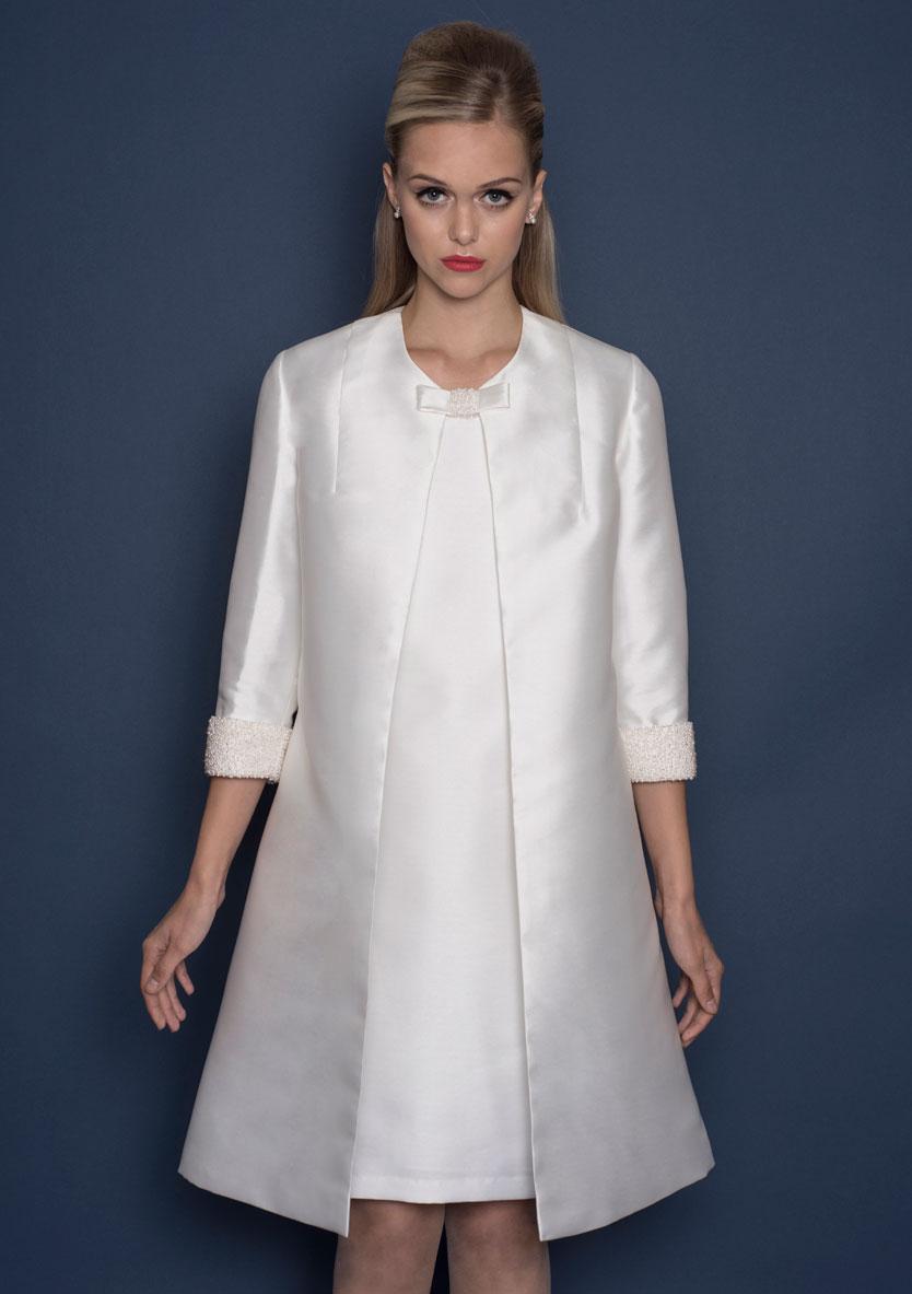BE101 Harper Dress & Coat front