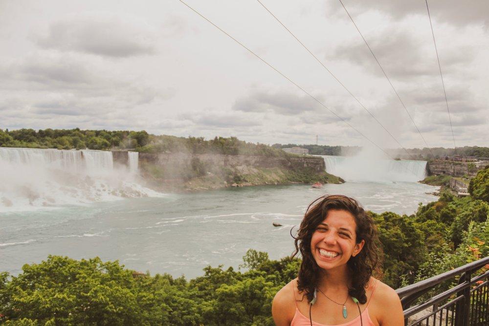 All smiles at NIAGARA falls
