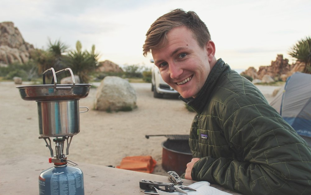 All smiles in Joshua tree National park