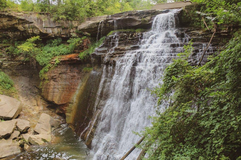 The beautiful Brandywine Falls!