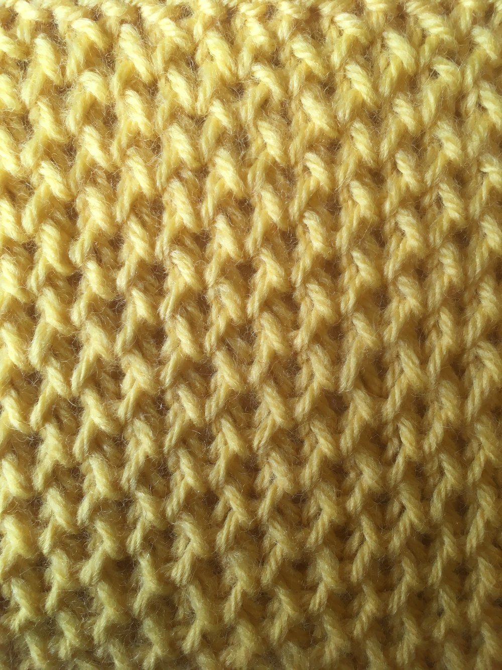 Hexagon stitch has a wonderful textural pattern and has a very soft cushioned feel.