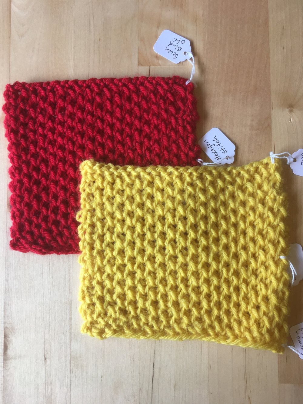 The Hexagon stitch changes appearance depending on the color used as well. It all has to do with how the texture reflects the light.