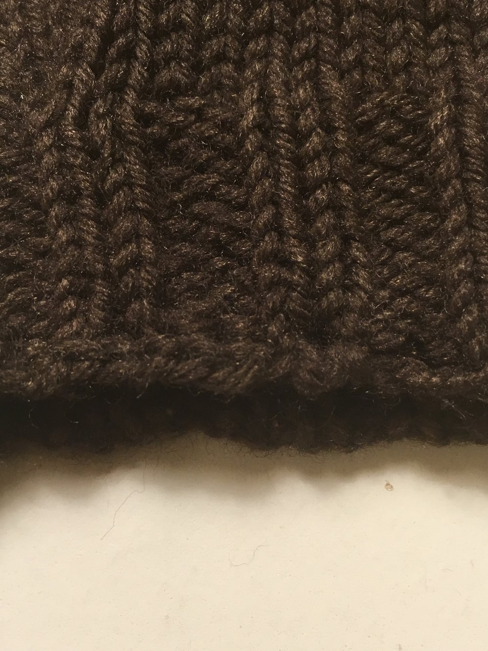I single crocheted across the gap and added some vertical bars to mimic the original tubular bindoff. Some places it was more convincing that others.