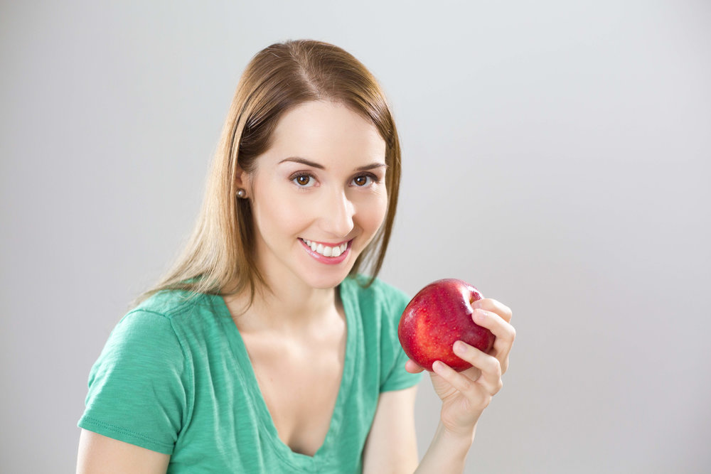 """I found this apple in my hot car. I get to eat today."""