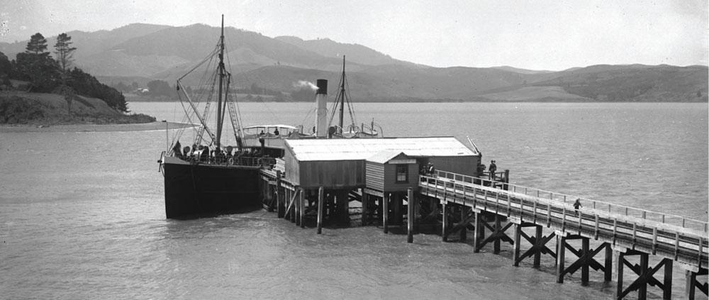 The Clansman | 1877 | Mangonui Wharf