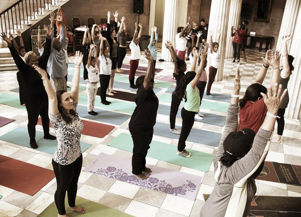 International Day of Yoga I Brooklyn Borough Hall