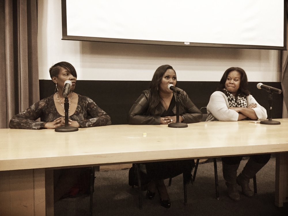 Reel Sisters Panel I Spike Lee Auditorium at LIU