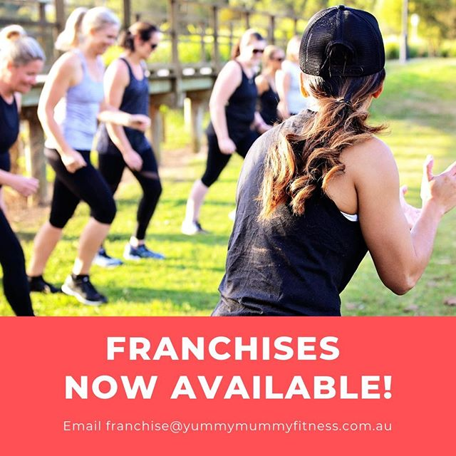 CALLING ALL PERSONAL TRAINERS 📢 Yummy Mummy Fitness now has FRANCHISES AVAILABLE! For the first time ever, we are providing one of the only business opportunities where BEING A MUM IS AN ASSET! Our franchise system has been developed for mums who are personal trainers (or who want to be a personal trainer) who are looking for genuine work opportunities that is flexible to the needs of motherhood. You do not need to choose over work or family, owning a Yummy Mummy Fitness franchise means you can have it all! For more information, visit our website or email franchise@yummymummyfitness.com.au.⠀⠀ ⠀⠀ #yummymummyfitness #mummyfitness #mumfitness #fitmums #postnatalfitness #postnatalexercise #mumsandbubsfitness #healthymummy #franchiseopportunities #fitnessfranchise #personaltrainers #femalepersonaltrainer #bossmum #businessmums #mumbusiness #mumpreneneurs