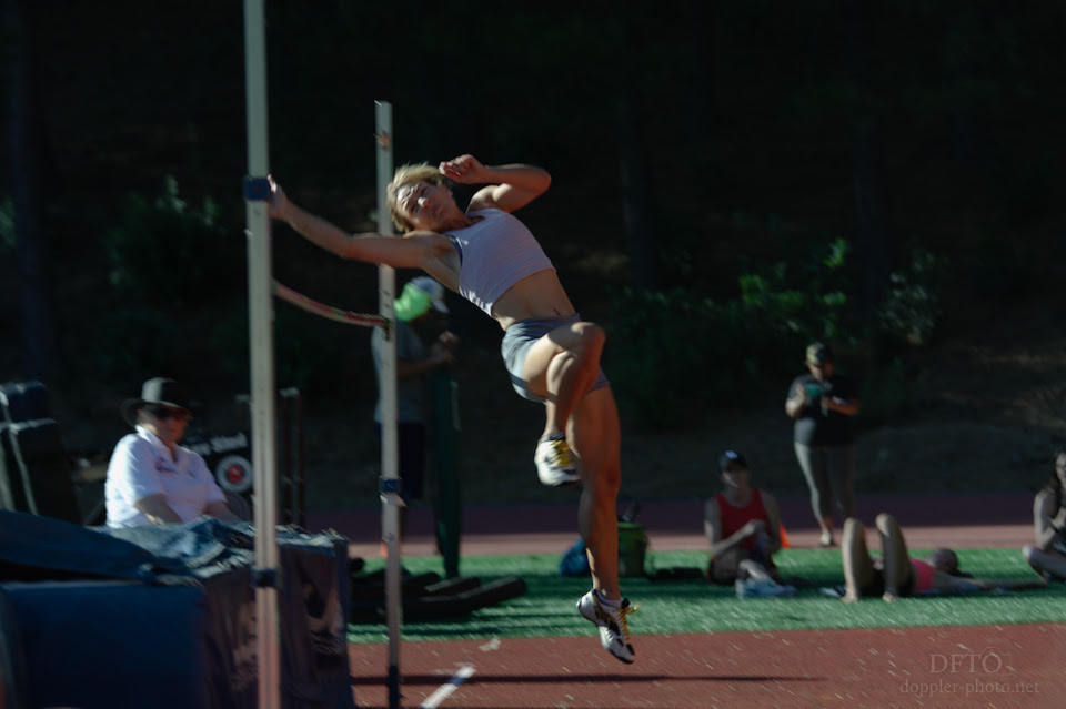 Photo of me at the USATF Women's National Decathlon Championships, June 2018