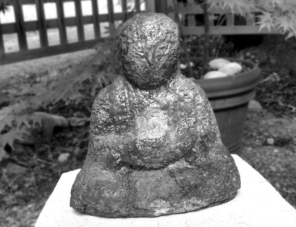 Eric Nelsen:  Vashon Island Ceramicist – Japanese inspired Jizos and iconic Bizen style sculpture.