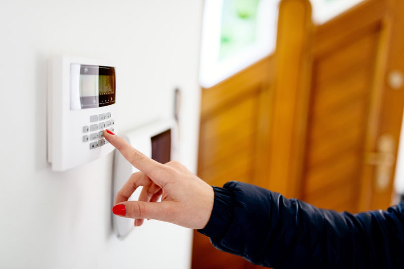 security alarms - Is your home secure? Ask us for security solutions for your home. A reliable security alarm combined with carefully positioned sensor lighting will deter unwanted visitors to your property.
