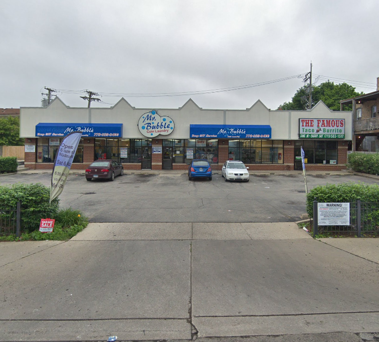 Mr. Bubble ( 2813 W Irving Park Rd ) from Google Street View