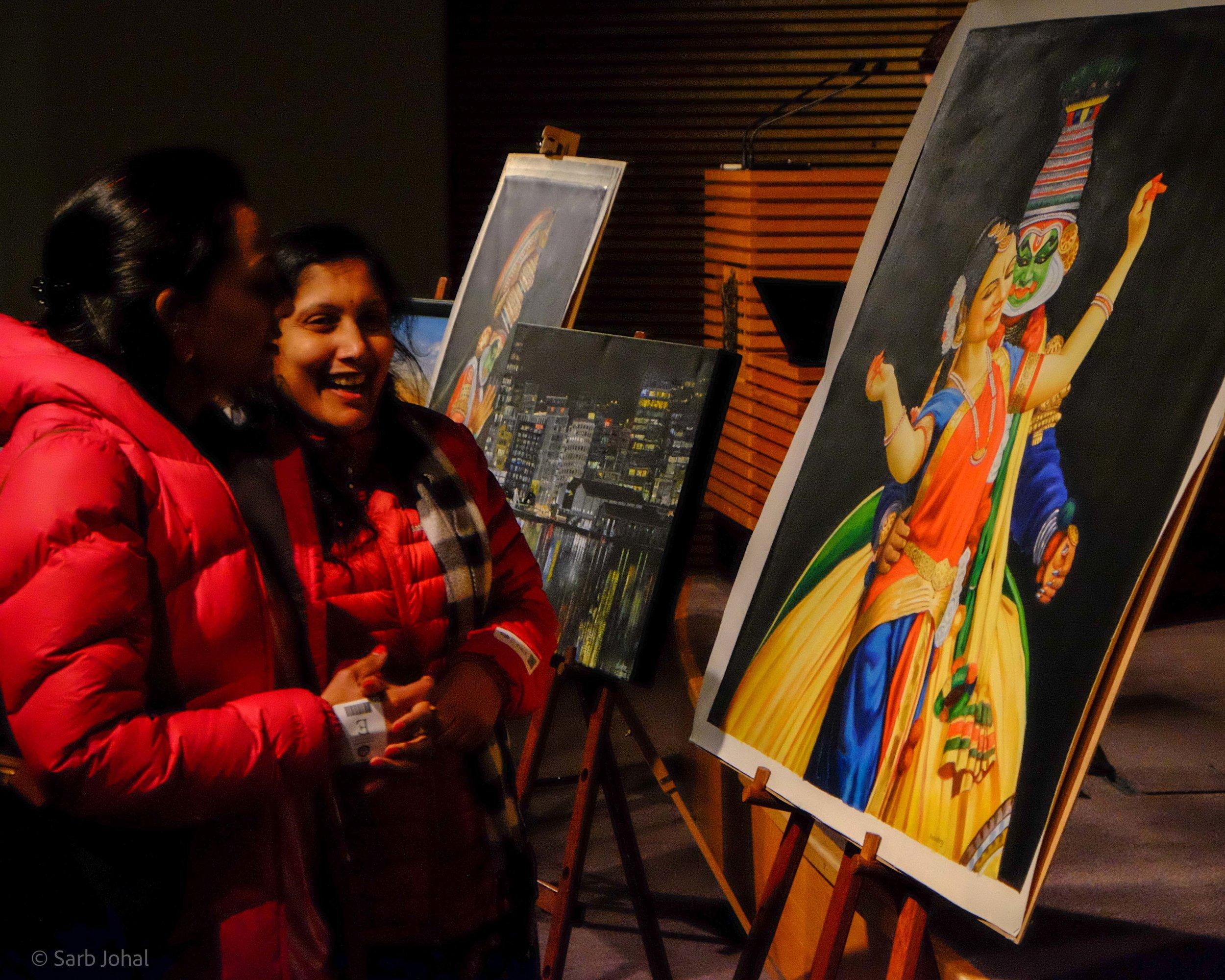 Kerala Floods Art Auction Fundraiser — Sarb Johal
