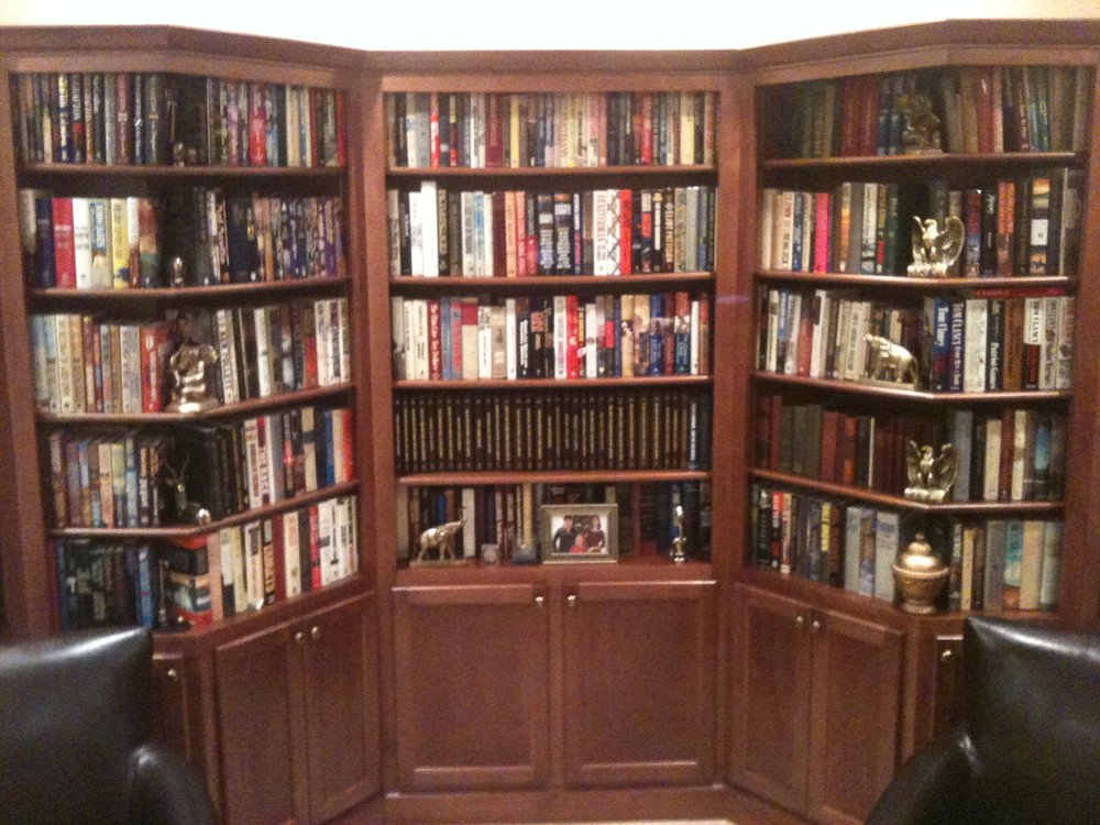 A Custom Library I made for my Father!