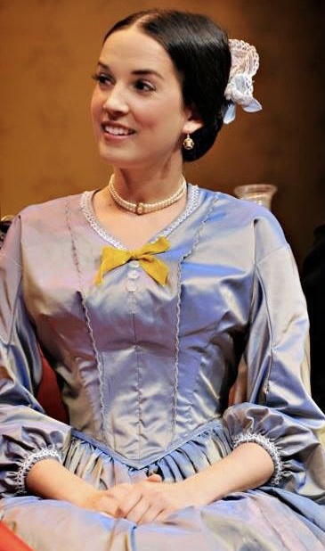 """MARIAN ALMOND in """"The Heiress"""""""