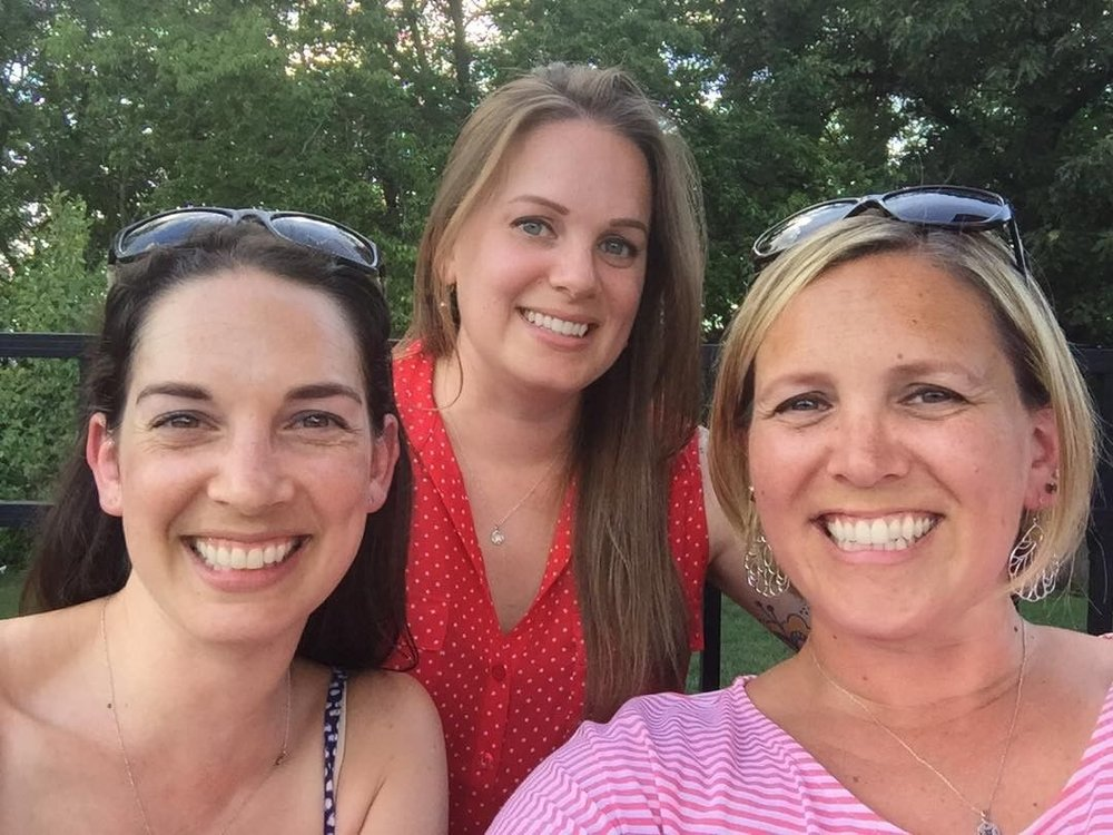 Krueger Sisters reunited in Maryland!