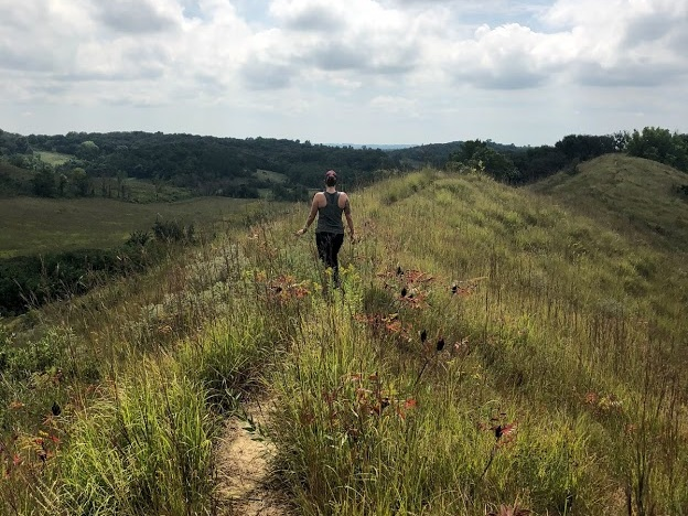 Loess Hills State Forest - A truly unique area of Iowa surrounded by dramatic ridges made of loess soil