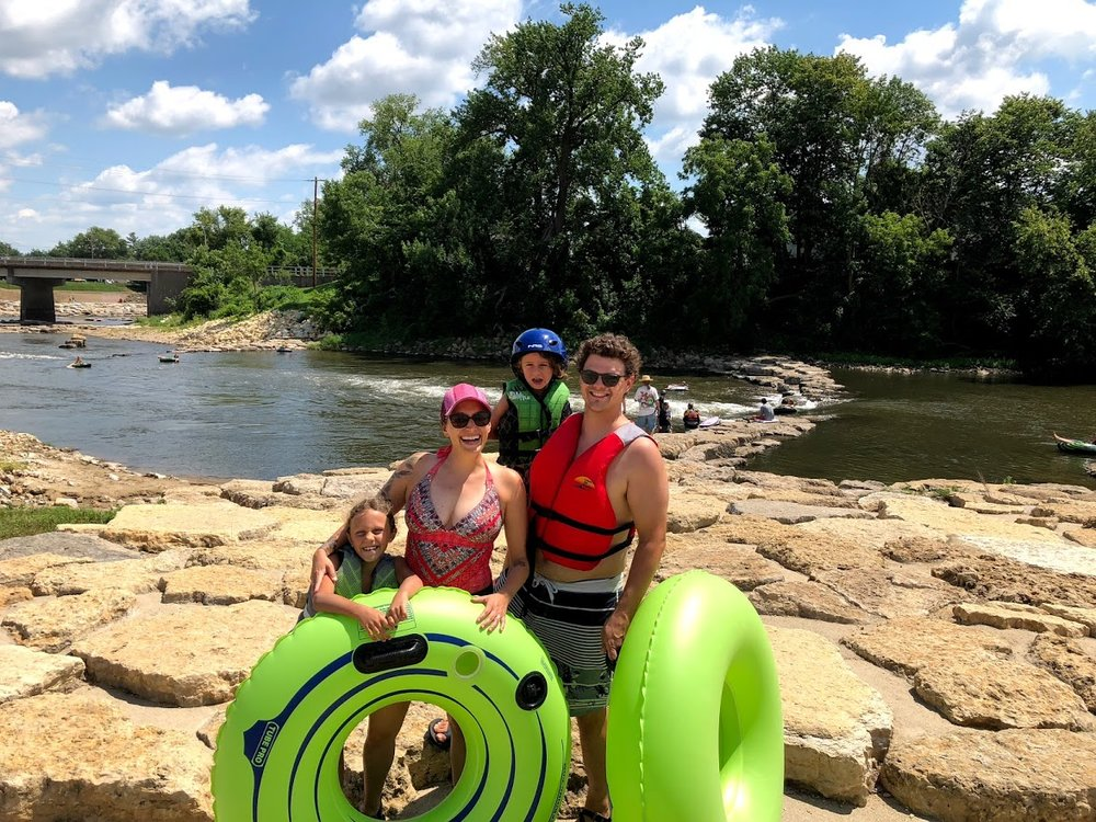 Manchester Whitewater Park - Fun for the entire family on the Maquoketa River