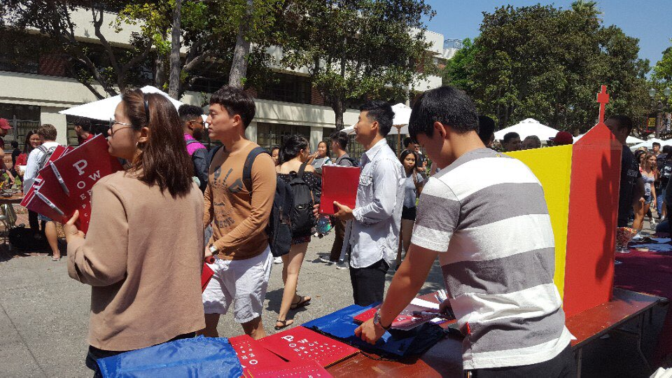 USC Involvement fair