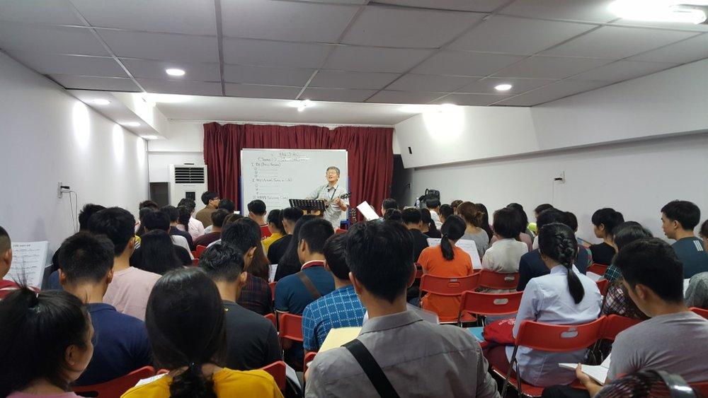베트남신학교 개강집회 2017