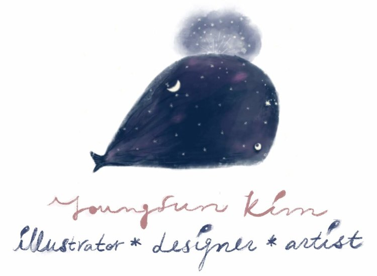 Youngsun Kim illustrations design works