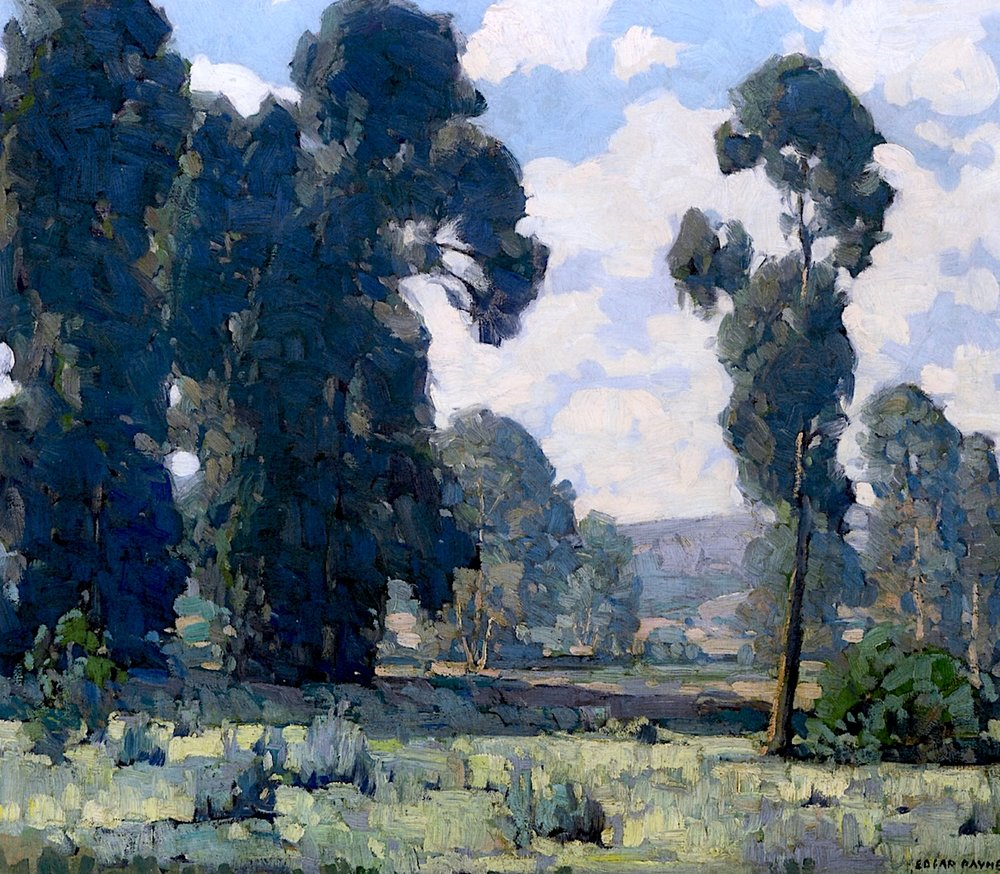 Eucalyptus by American painter Edgar Alwin Payne