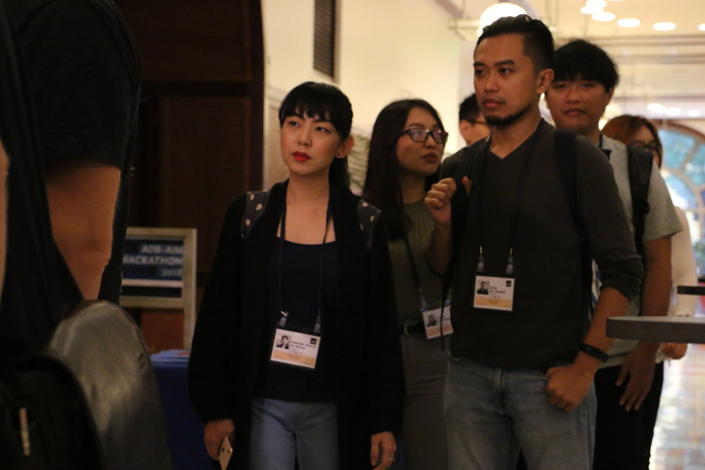 How it works - Over 500 participants submitted their proposals for one of three real development challenges. The top 5 teams for each challenge then headed to Manila for the final stage of the competition, where they coded and pitched their solution to a panel of judges.