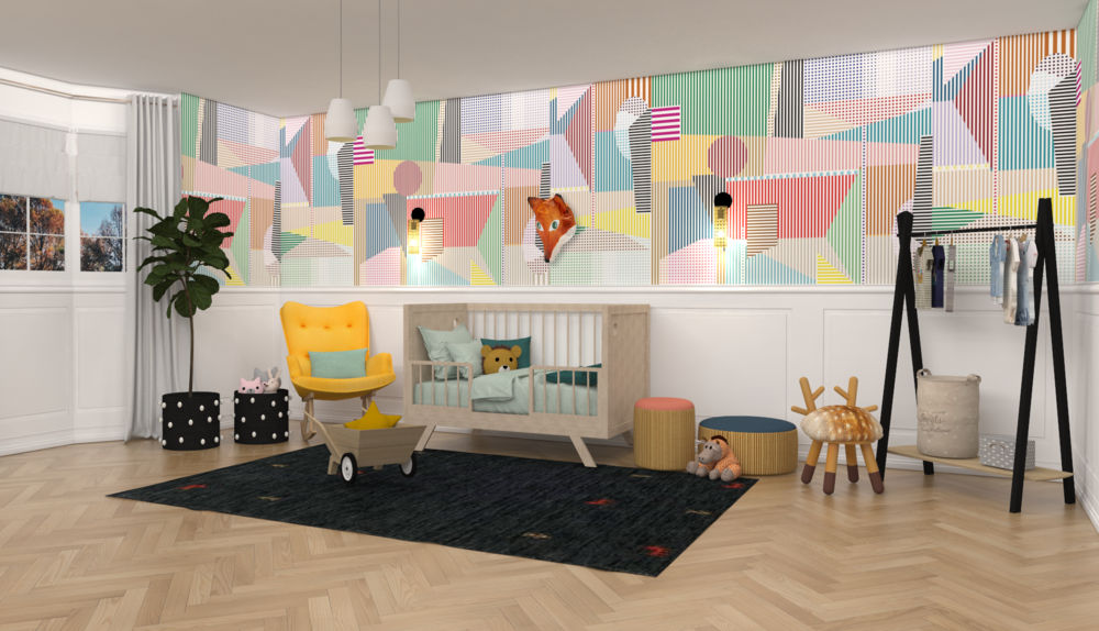 Contemporary Baby Nursery