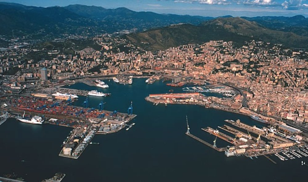 Genoa and its old port…