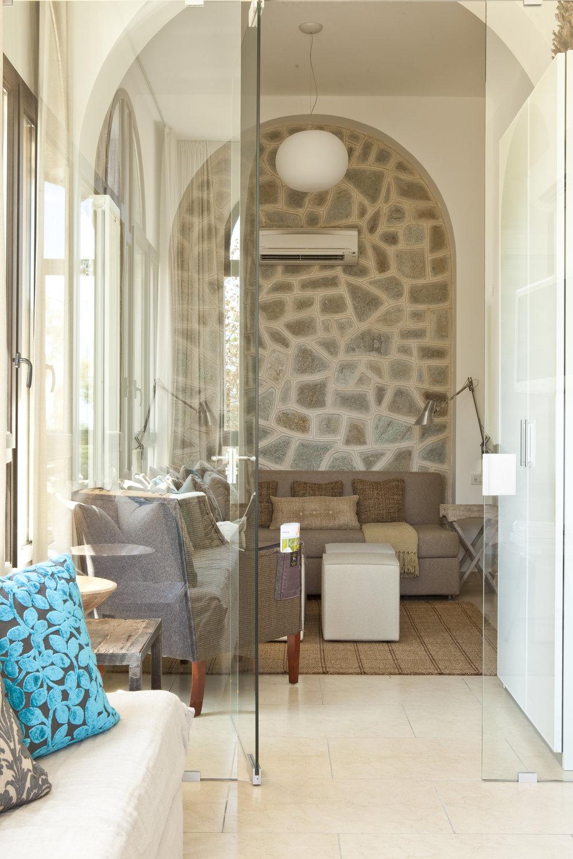 The Villa Fiske Apt.'s GBR/Studio from the Loggia…