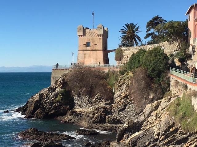 The Italian Riviera…
