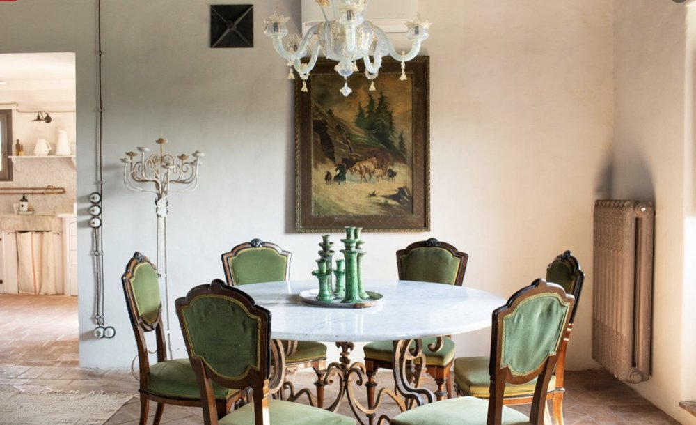 """""""In Tuscany, my Rustic Glam house…"""" - Westwing Magazine - September 2018"""