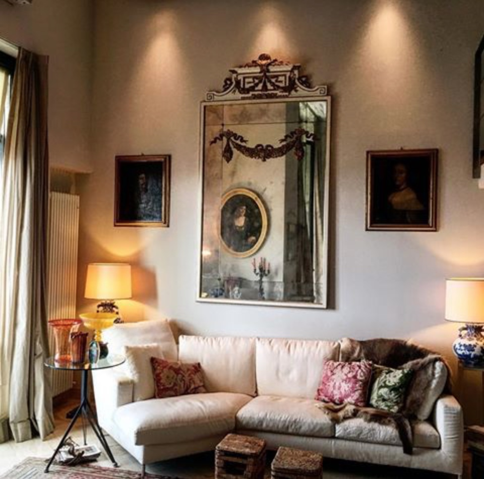 The majesty of antiques & contemporary… glass, linen,fur, silk, nylon and porcelain.