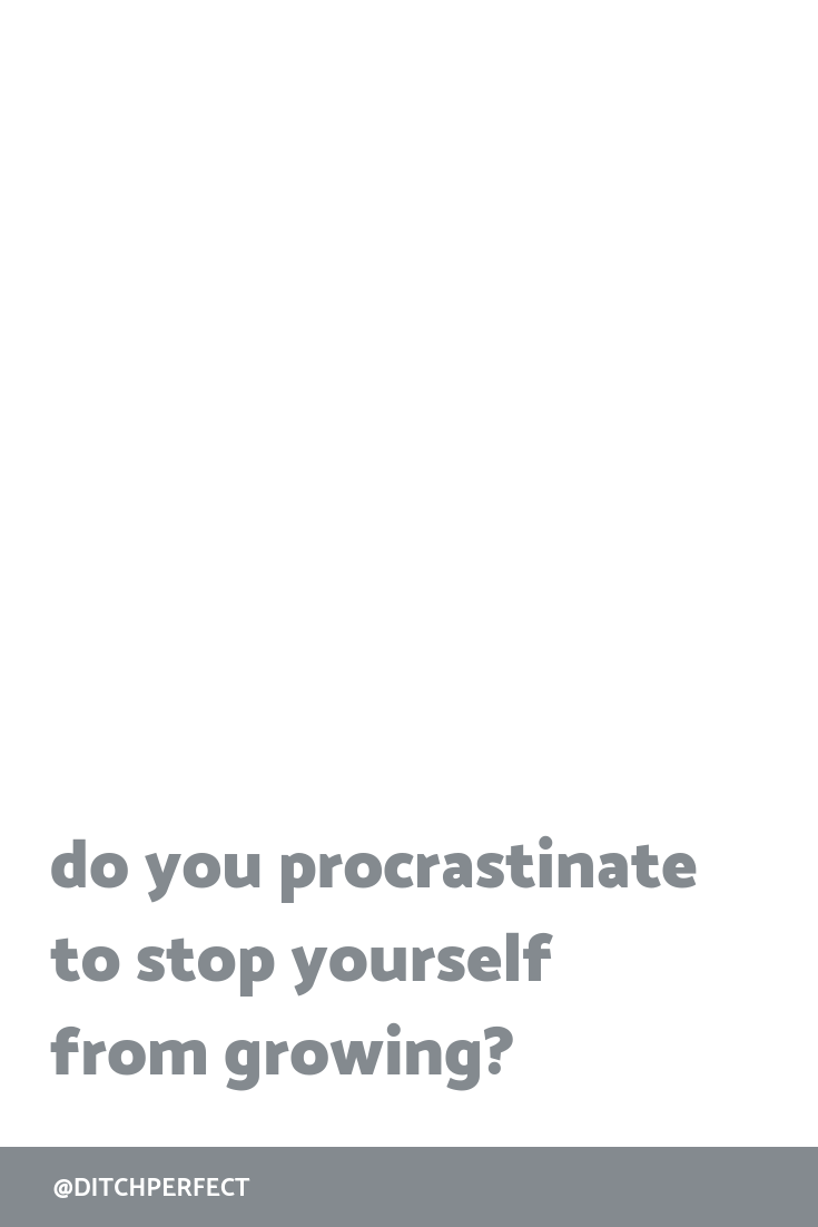 The thing I've been procrastinating on for weeks now? I just cranked it out in no time at all. A few hours of deep work and it was done. Why do I do this to myself? Click through to find out the deeper feelings + fears behind procrastination.