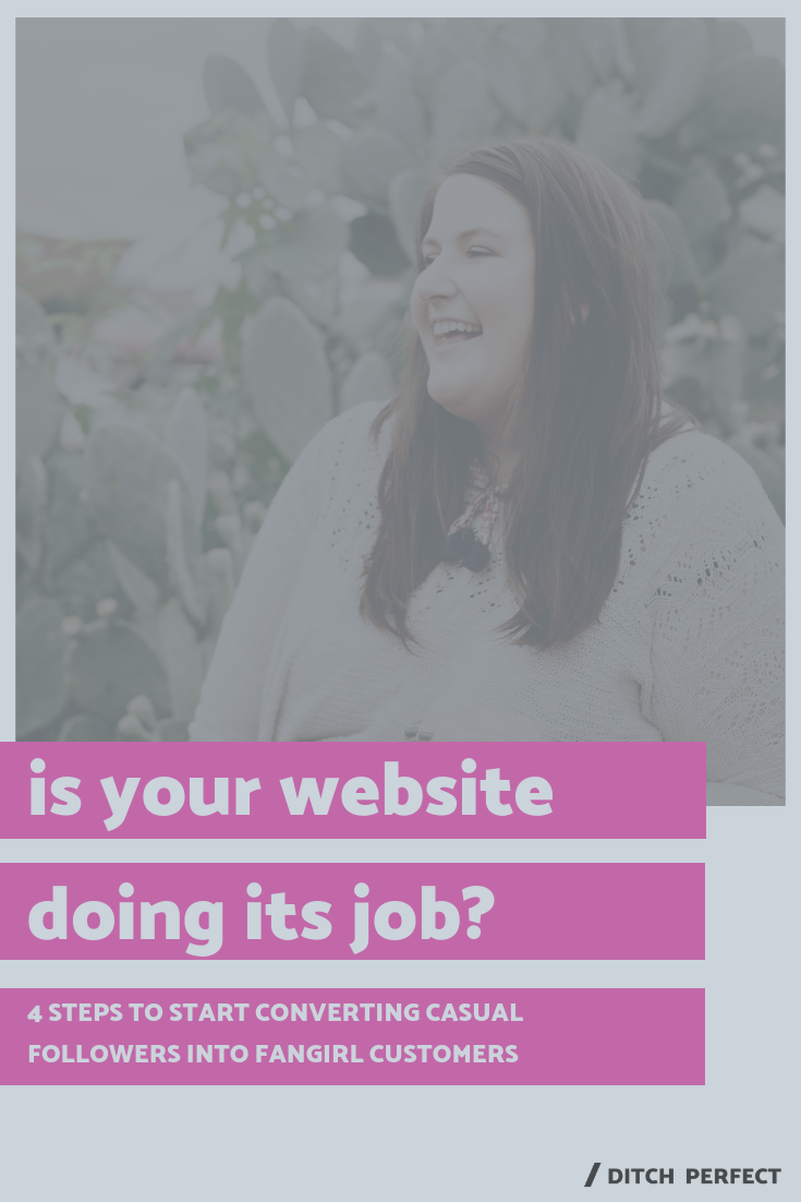 I bet creating a strategic website + intentional online space for your creative business is something you've been dreaming about. As a Squarespace web designer, one of my best website design tips is to do a website audit. Click through for 4 easy ways to make sure your website is working *for* your creative business. Plus, there's a free quiz! #onlinecreatives #creativeentrepreneur