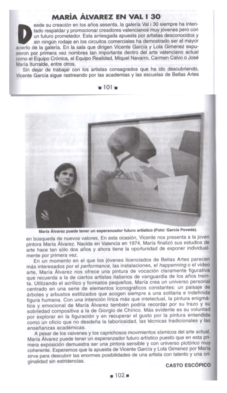 Cartelera Turia Turia 2000
