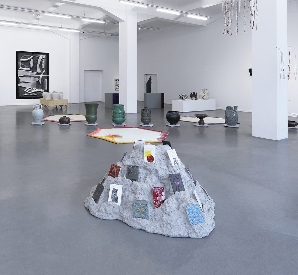 Installation view: Further Thoughts on Earthly Materials, Kunsthaus Hamburg, 2018
