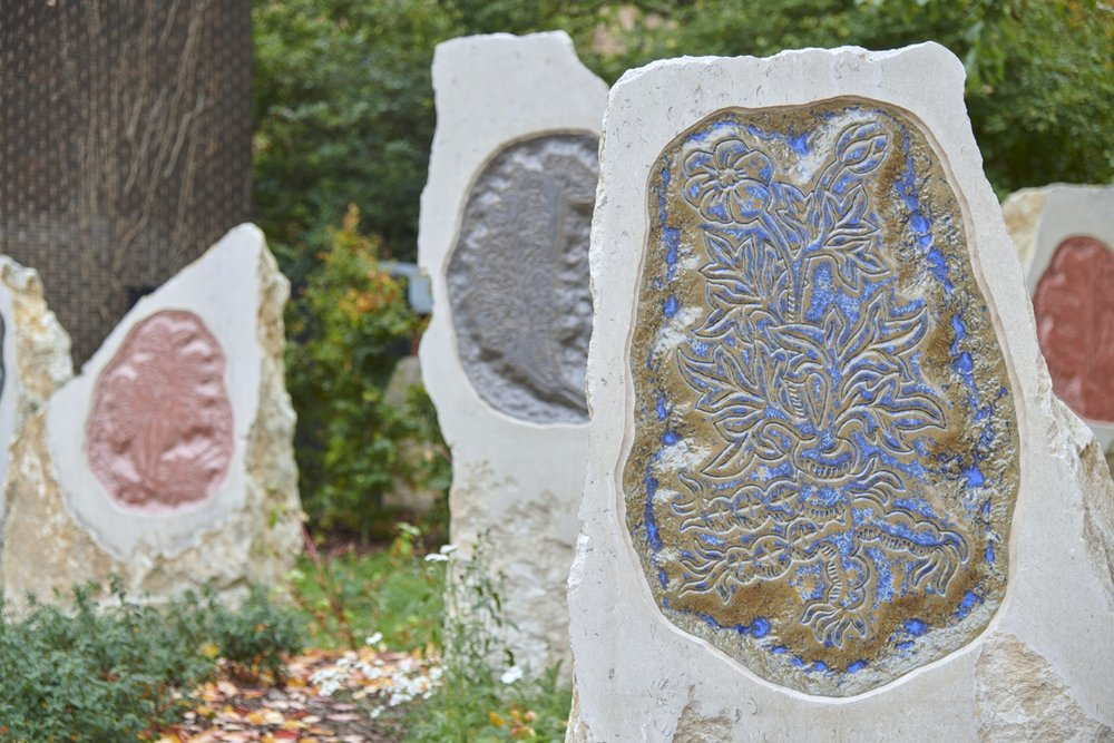 Paradise Garden' (2018) public art commission for Greyfriars, Oxford
