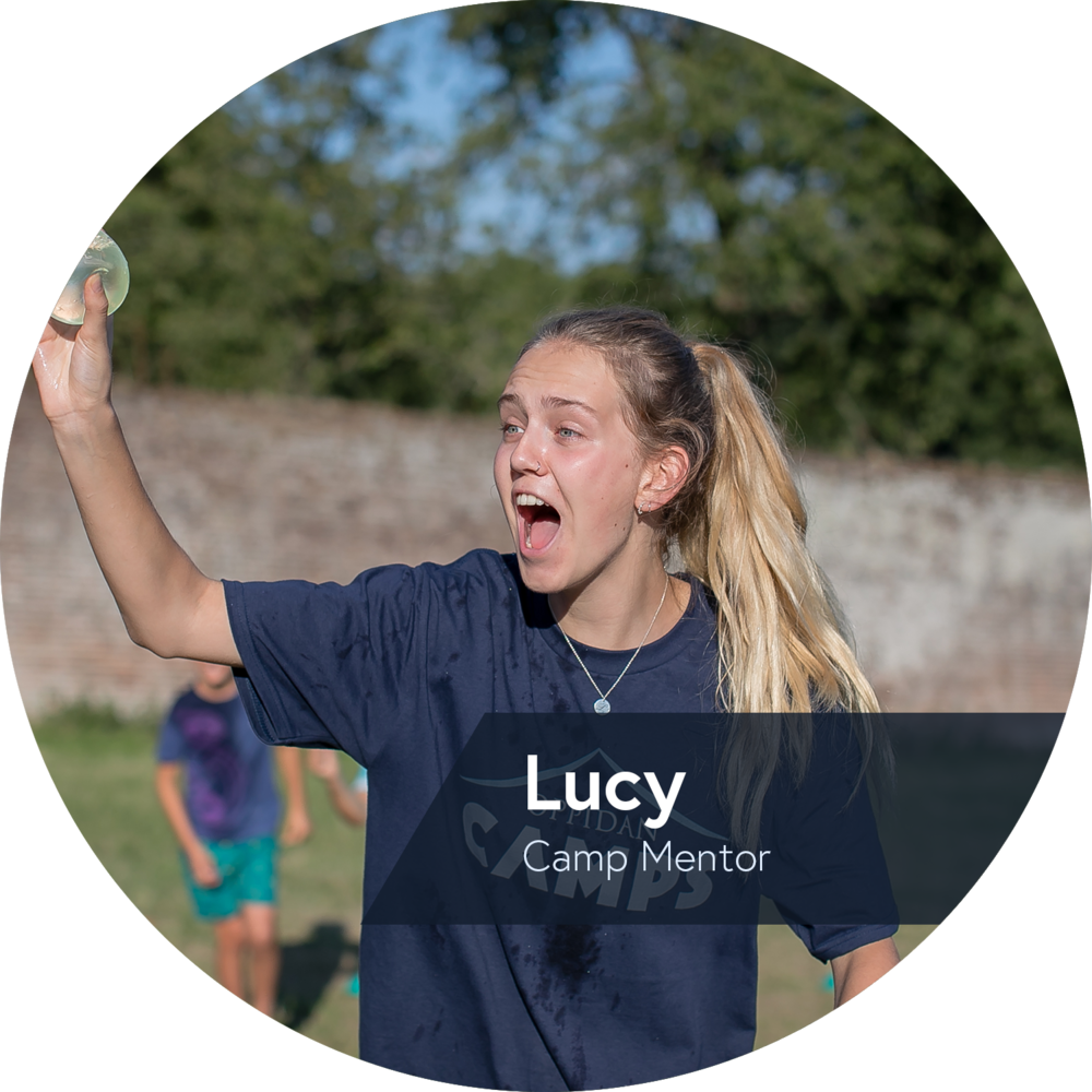 Lucy camp mentor at Oppidan Camps