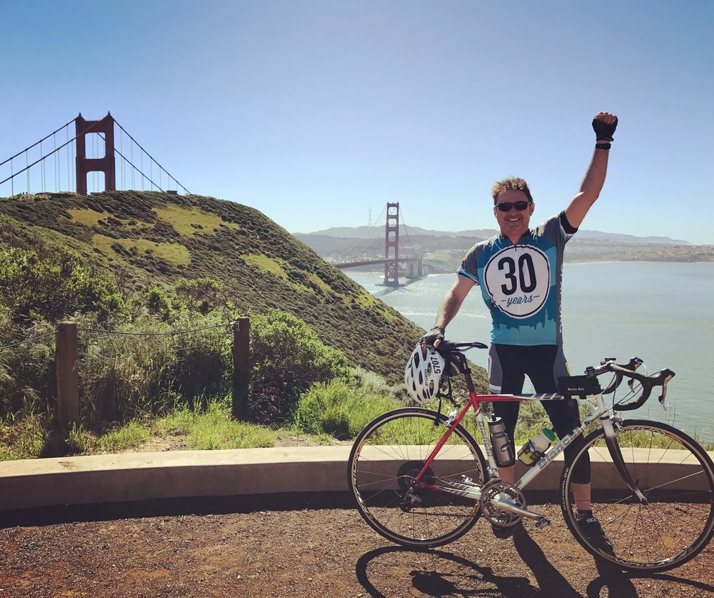 helping - Why did I ride my bike 545 miles from San Francisco to Los Angeles?
