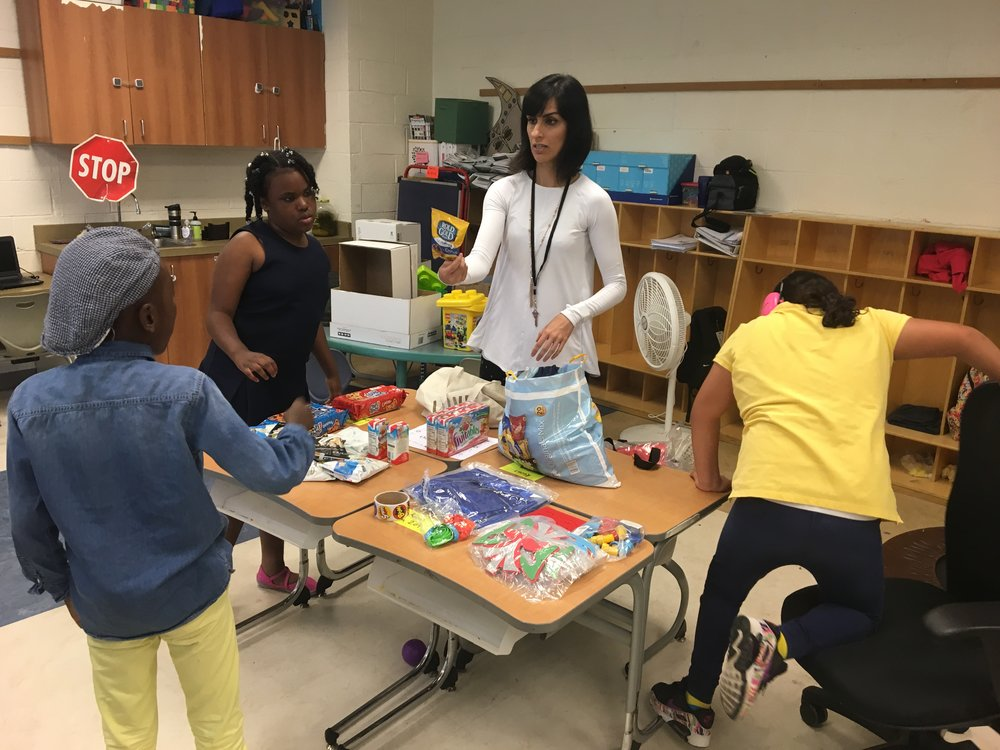 Working in a third to fifth grade Autism classroom in Washington, DC