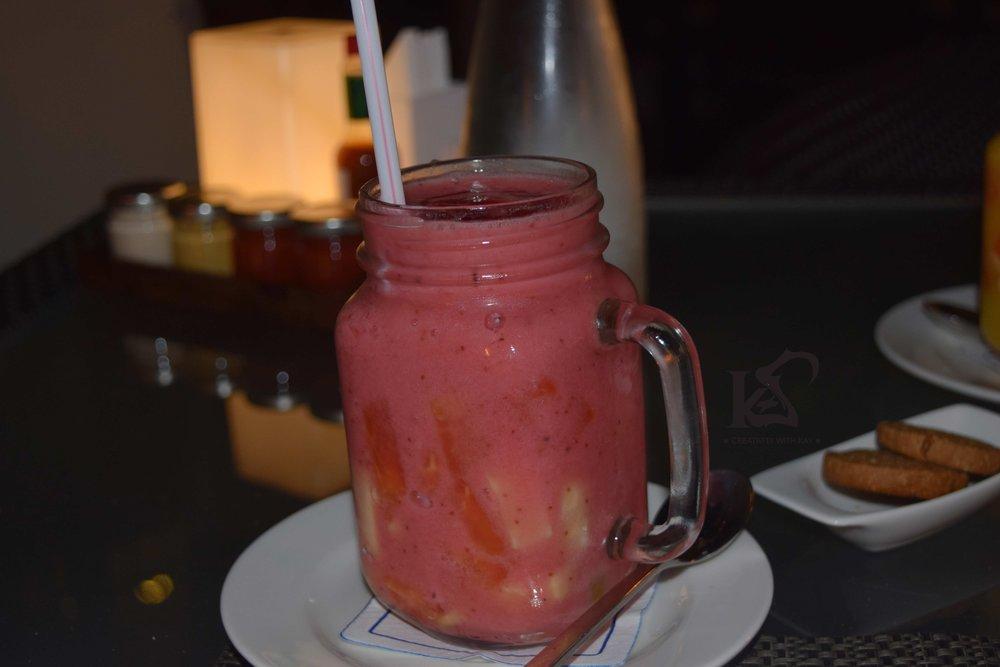 Strawberry Lebanese Mocktail