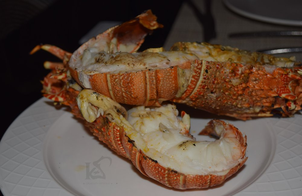 How big is this serving for lobster?