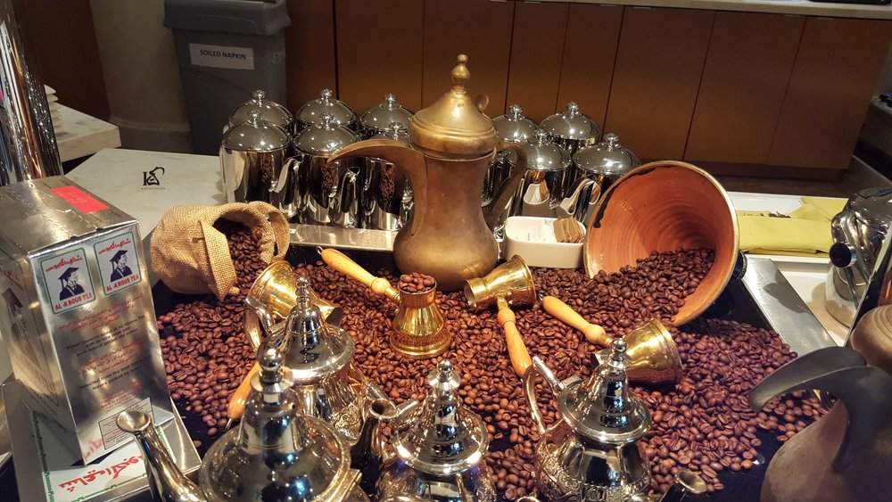 Arabic coffee and dates - An authentic Arabic Experience