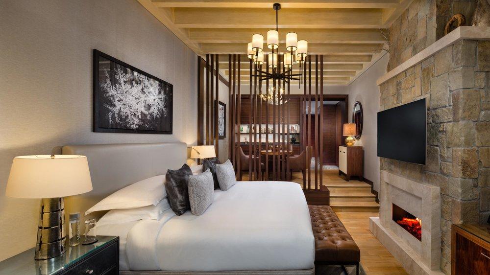 STUDIO Chalet Bedroom
