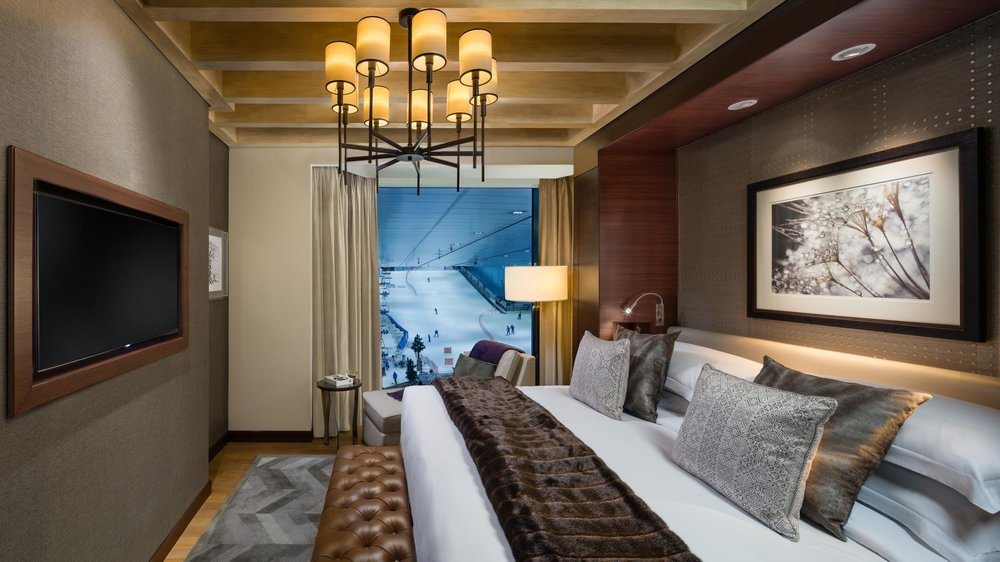 SKI Chalet King Bedroom