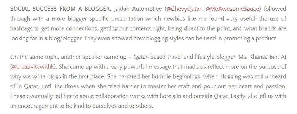 zomato blogger's conference.JPG